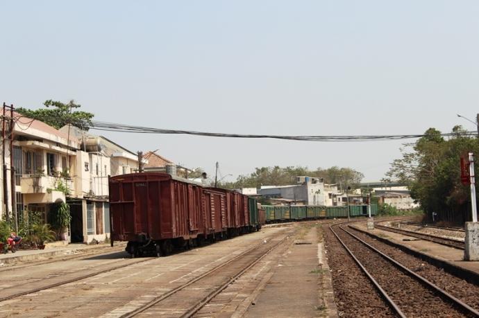 Dịch vụ vận chuyển container hàng bằng đường sắt